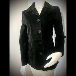 Gasoline suede jacket size M Black